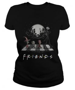 Friends TV show The Nightmare Before Christmas Abbey Road Halloween  Classic Ladies