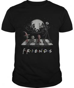 Friends TV show The Nightmare Before Christmas Abbey Road Halloween  Unisex