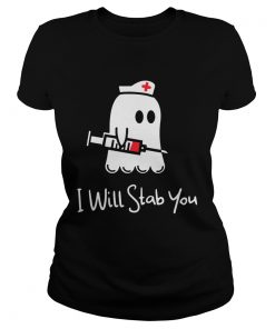 Ghost nurse I will stab you  Classic Ladies