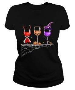Halloween glasses of wine  Classic Ladies