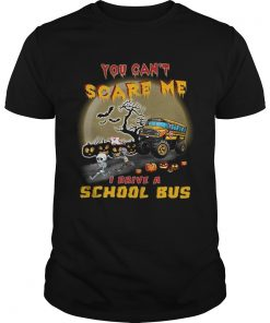 Halloween you cant scare me I drive a school bus  Unisex