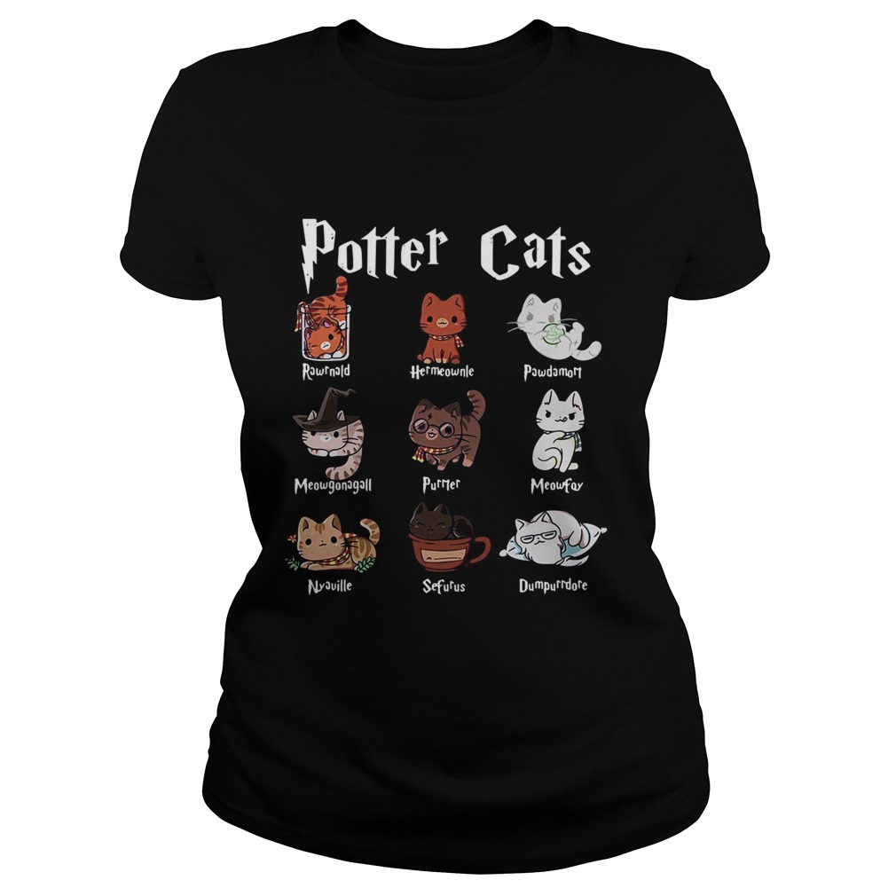 Harry Potter cats Classic Ladies