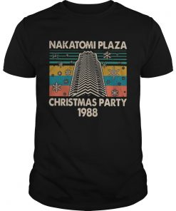 Nakatomi Plaza Christmas party 1988 vintage  Unisex