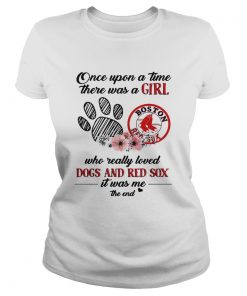 Once upon a time there was a girl who really loved Dogs and Red Sox  Classic Ladies