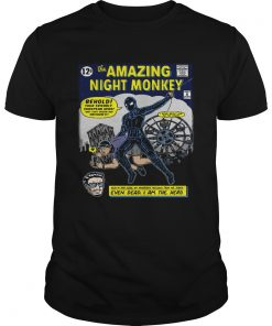 SpiderMan the amazing night monkey behold your friendly European hero  Unisex