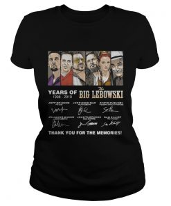 Years of The Big Lebowski 19982019 signatures  Classic Ladies