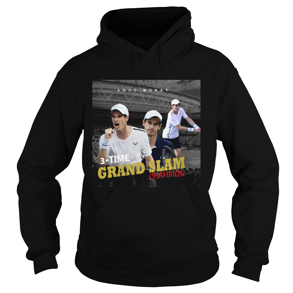 Andy Murray 3 time Grand Slam champion Hoodie