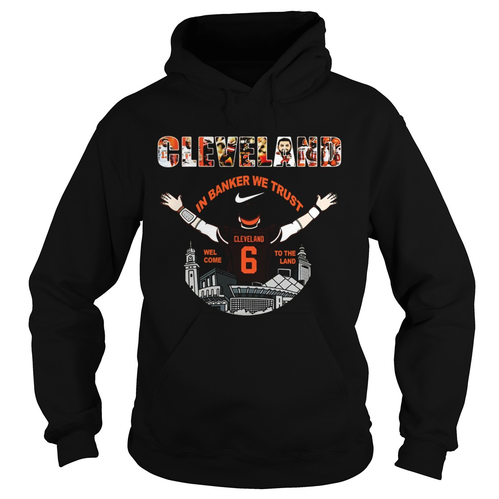 Baker Mayfield Player Cleveland Browns NFL 2019 Hoodie