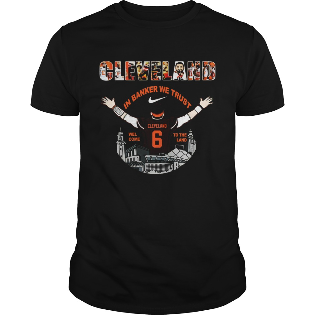 Baker Mayfield Player Cleveland Browns NFL 2019 Unisex