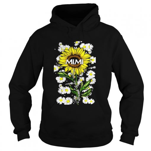 Blessed to be called mimi Sunflower daisy  Hoodie