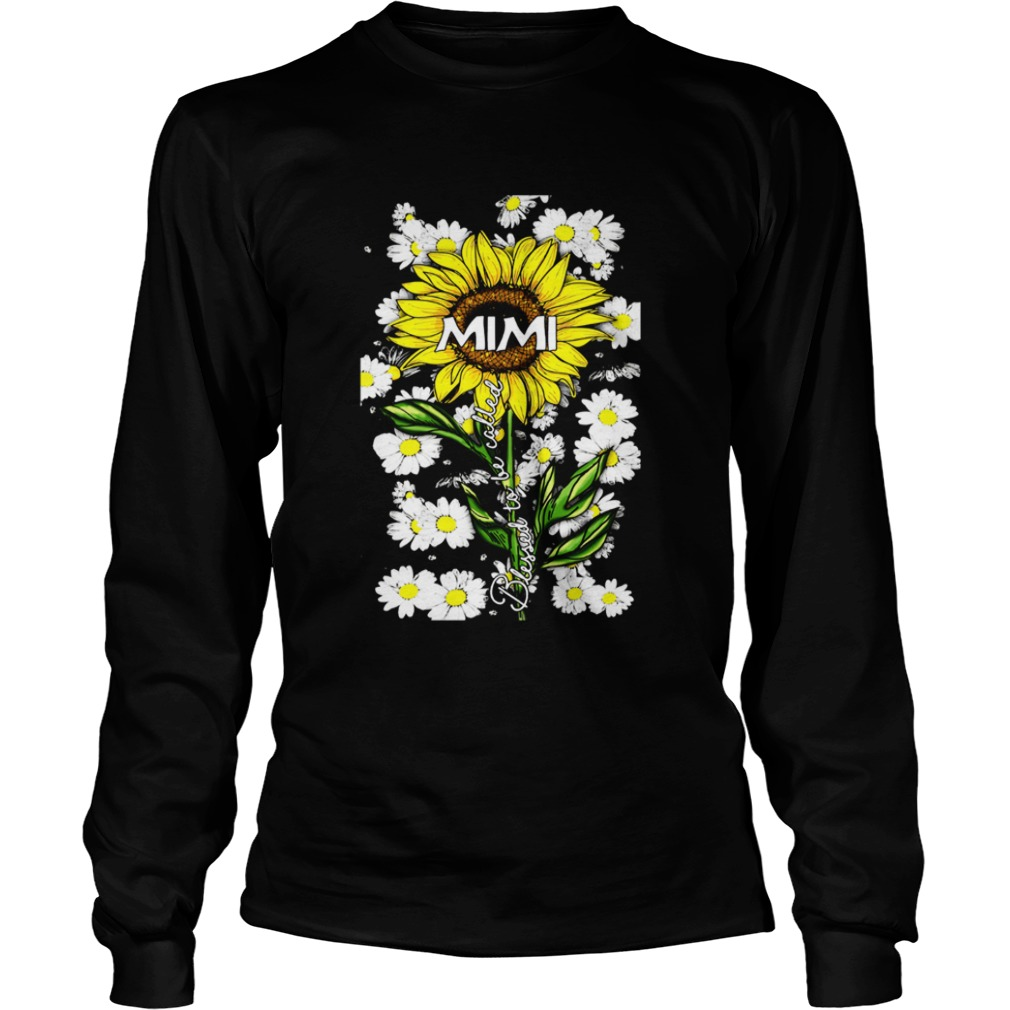 Blessed to be called mimi Sunflower daisy LongSleeve