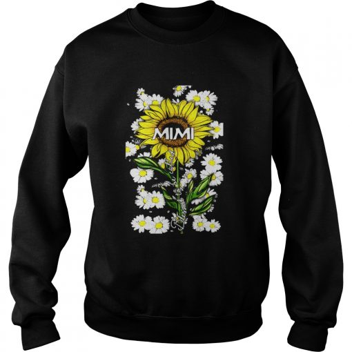 Blessed to be called mimi Sunflower daisy  Sweatshirt