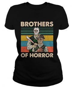Brothers of Horror Jason Voorhees and Freddy Krueger vintage  Classic Ladies