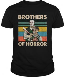 Brothers of Horror Jason Voorhees and Freddy Krueger vintage  Unisex