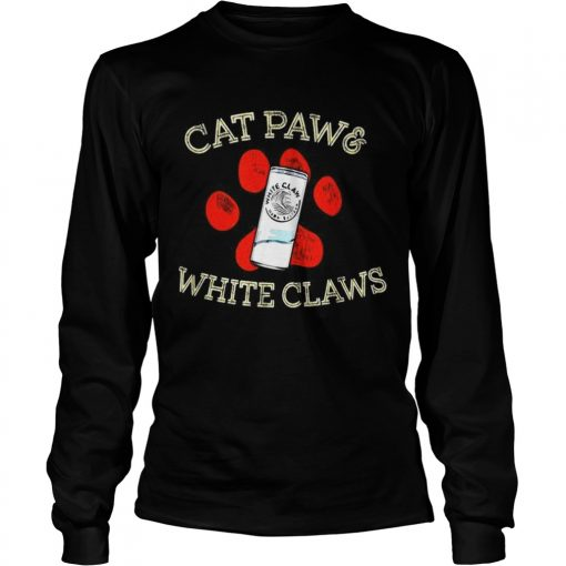 Cat paws and White Claws  LongSleeve