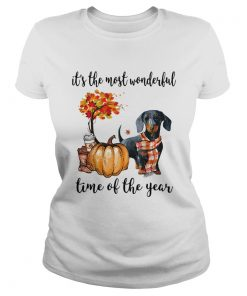 Dachshund its the most wonderful time of the year  Classic Ladies