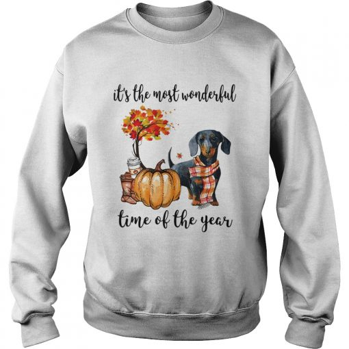 Dachshund its the most wonderful time of the year  Sweatshirt