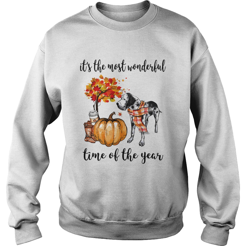 Dalmatian its the most wonderful time of the year Sweatshirt