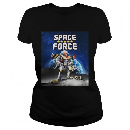 Donald Trump Buzz Lightyear space force  Classic Ladies