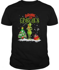 Drink up Grinches Christmas Captain Morgan  Unisex