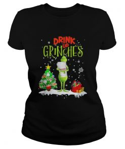 Drink up Grinches Christmas Dunkin Donuts  Classic Ladies