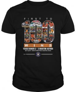 First to 100 wins Houston Astros T Unisex