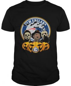 Freddy Krueger Michael Myers Jason Voorhees Pumpkin New England Patriots  Unisex