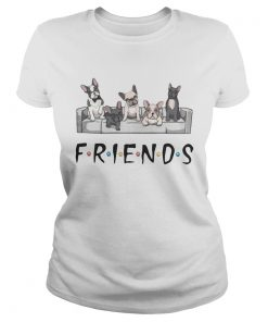 French Bulldog friends  Classic Ladies