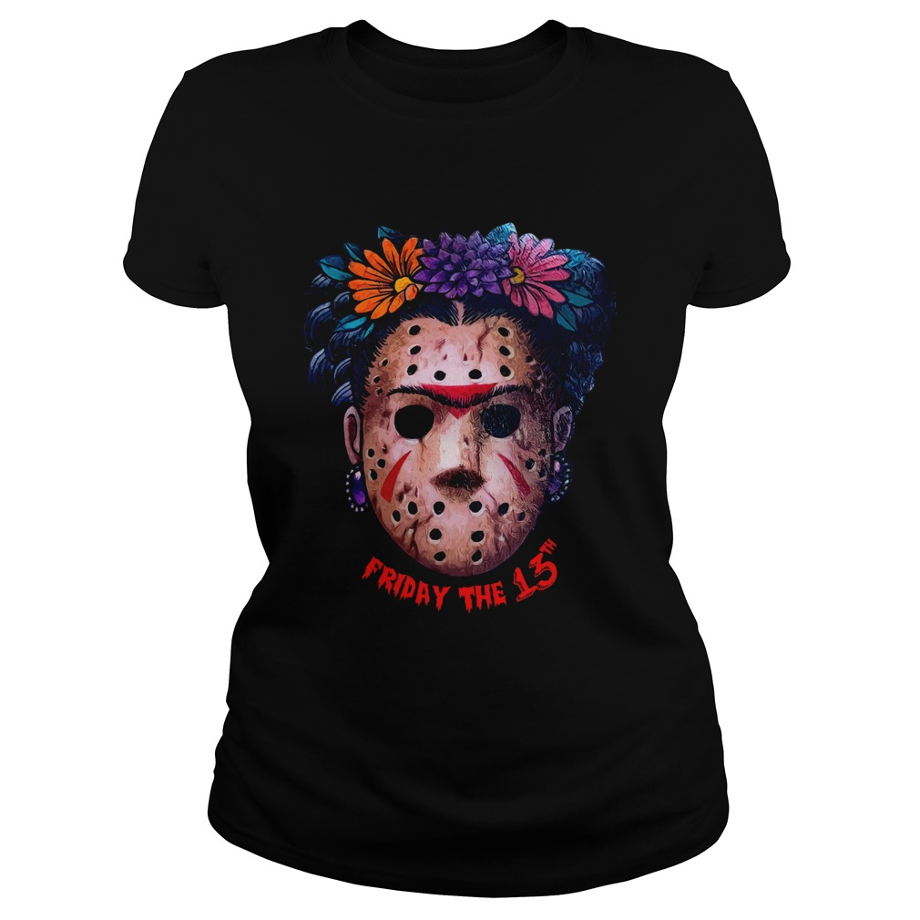 Frida Kahlo Jason Voorhees Friday the 13th Classic Ladies