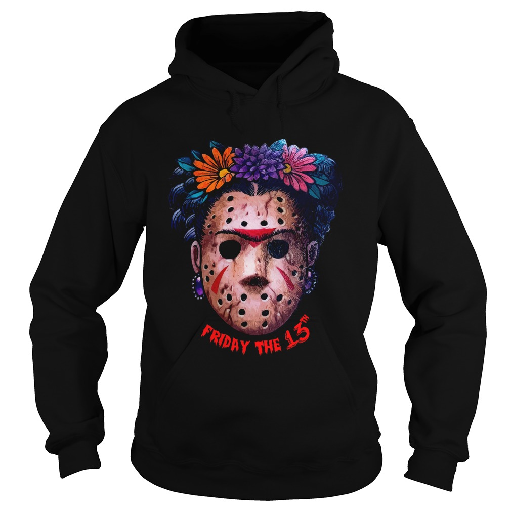 Frida Kahlo Jason Voorhees Friday the 13th Hoodie