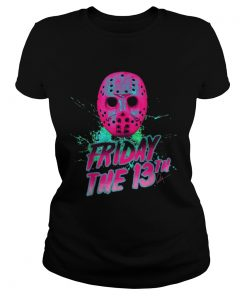 Friday 13th Halloween Horror Mask  Classic Ladies