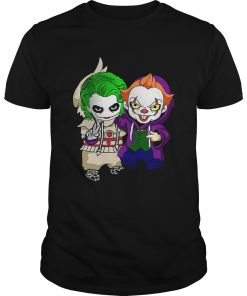 Friends Joker and Pennywise funny costume  Unisex