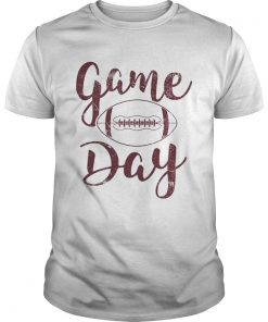 Game day football  Unisex