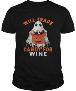 Ghost will trade candy for  Unisex