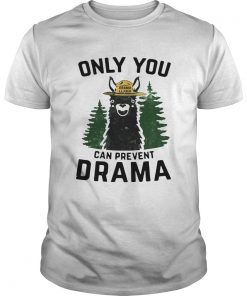 Grama Llama only you can prevent Drama  Unisex