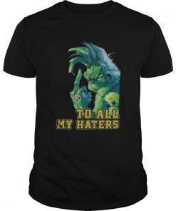 Grinch Steelers to all my haters  Unisex