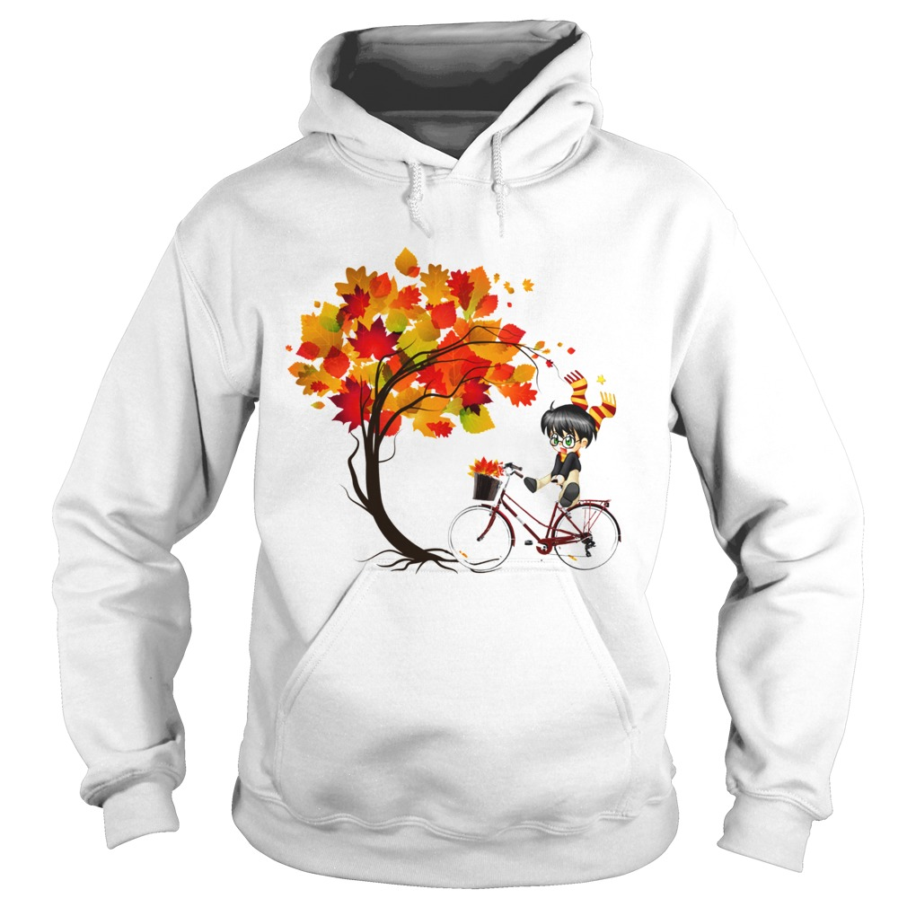 Harry Potter Bicycle Autumn Hoodie