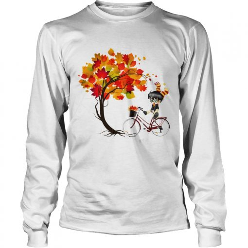 Harry Potter Bicycle Autumn  LongSleeve