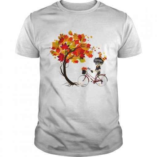 Harry Potter Bicycle Autumn  Unisex