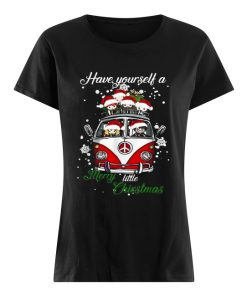 Hippie car Harry Potter Have yourself a Merry little Christmas  Classic Women's T-shirt