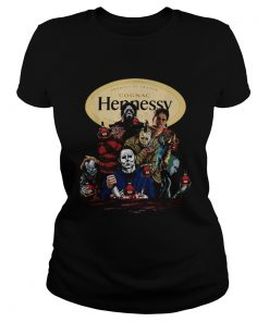 Horror movies character Hennessy Cognac  Classic Ladies