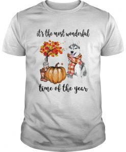Husky its the most wonderful time of the year  Unisex