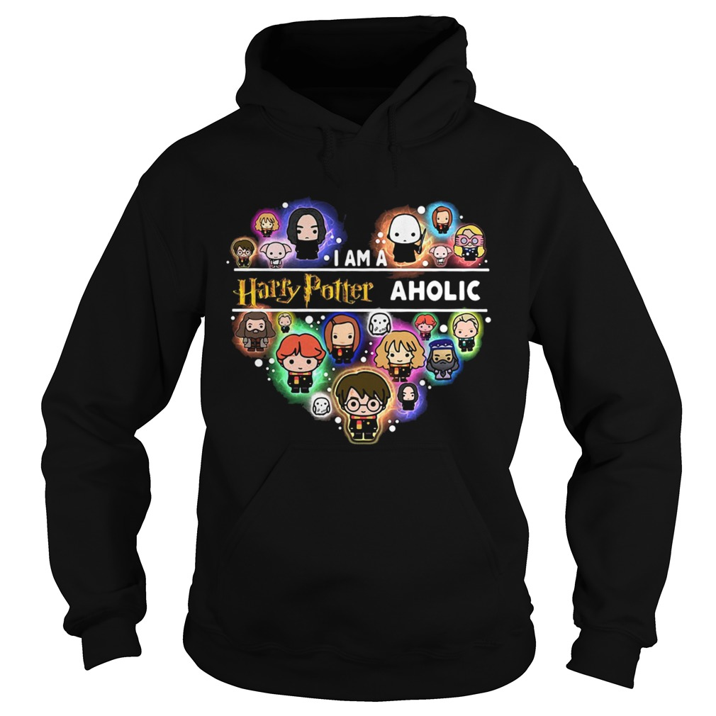 I am a Harry Potter aholic heart Hoodie
