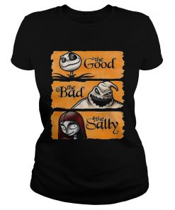Jack Skellington the good oogie boogie the bad the sally  Classic Ladies