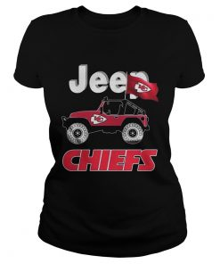 Jeep Kansas City Chiefs fan  Classic Ladies
