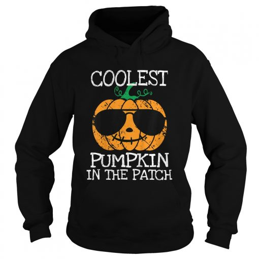 Kids Coolest Pumpkin In The Patch Halloween Costume Boys Gift TShirt Hoodie