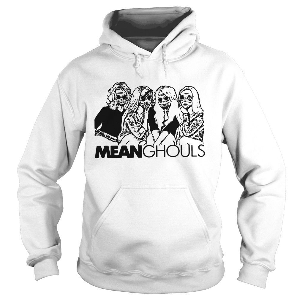 Mean Ghouls Horror movie characters Halloween Hoodie