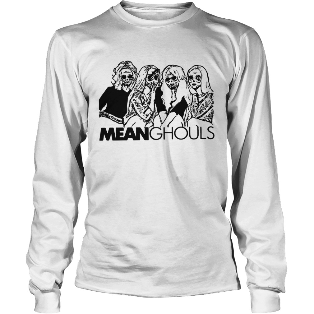 Mean Ghouls Horror movie characters Halloween LongSleeve