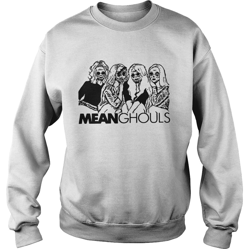 Mean Ghouls Horror movie characters Halloween Sweatshirt