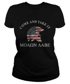 Molon Labe Come and take it  Classic Ladies